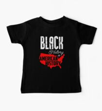 Black History is American History Kids Clothes