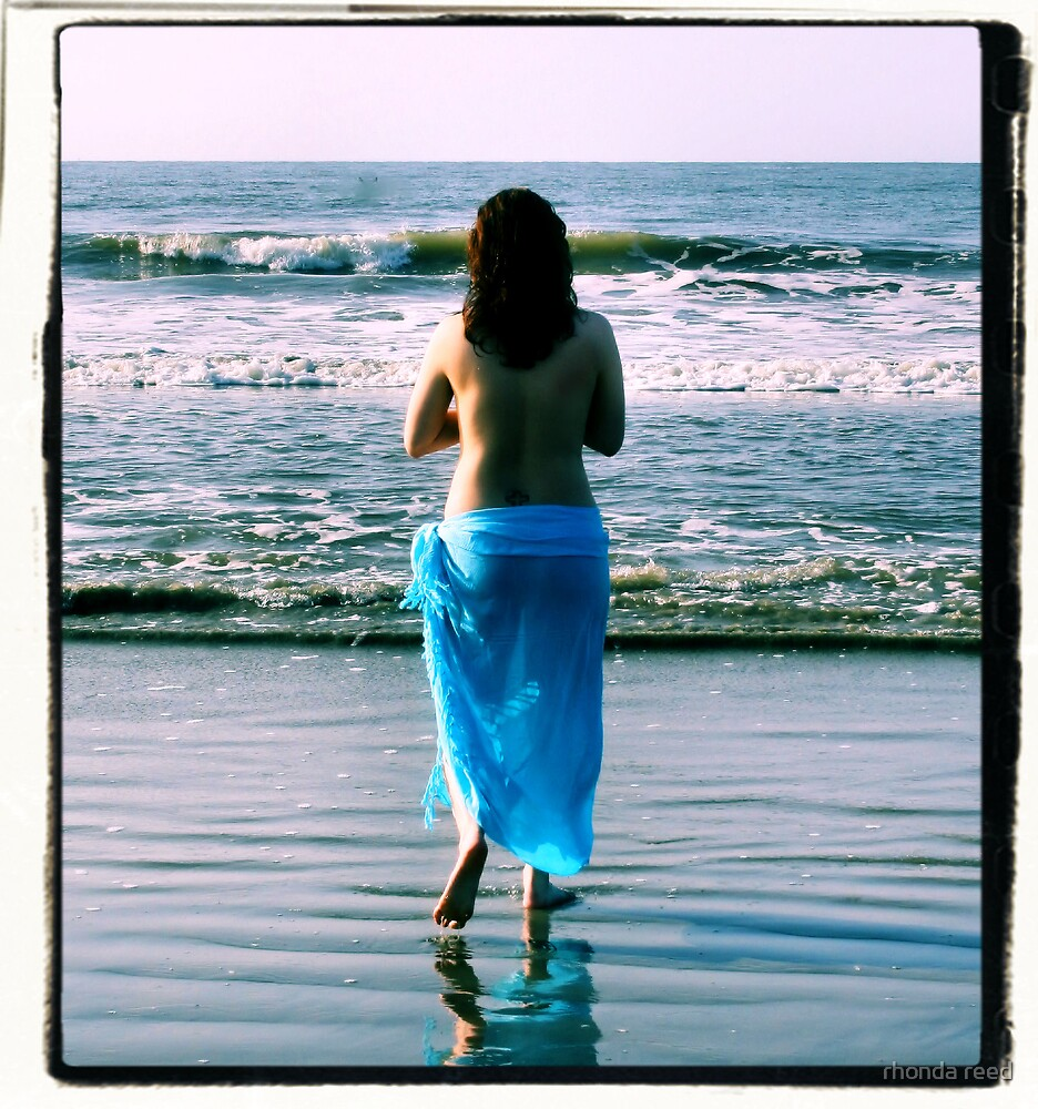 Faith and the Sea by rhonda reed