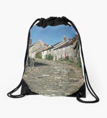 Gold Hill Shaftsbury. Dorset UK Drawstring Bag