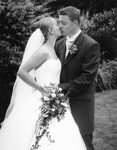 Wedding Finish Black And White by Caseyddtge