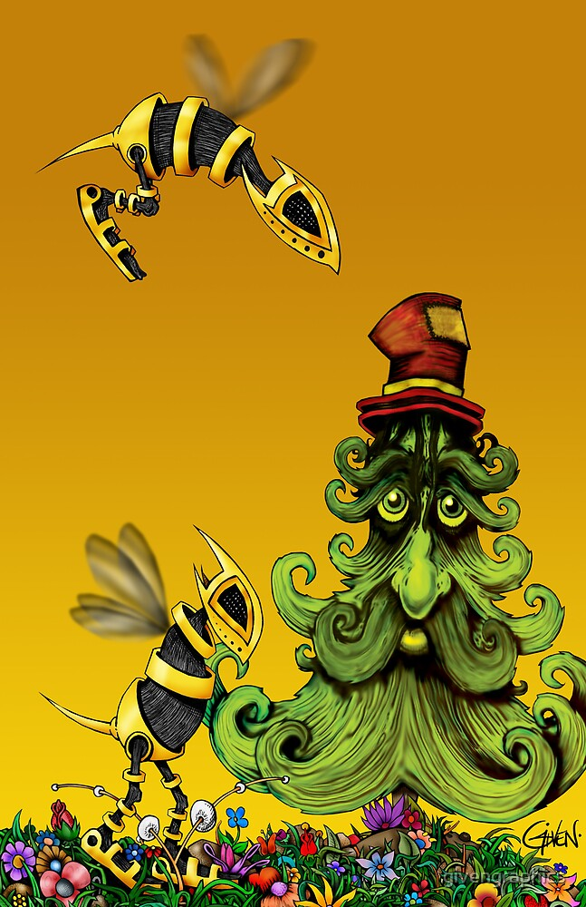 The Belly Bees and the Hobo Tree by givengraphics