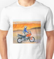 KTM 990 Adventure Dune Rider at sunset T-Shirt