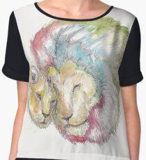 Lion Lovers Chiffon Top