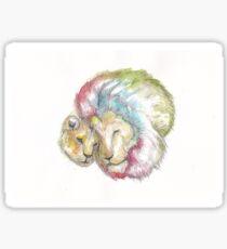 Lion Lovers Sticker