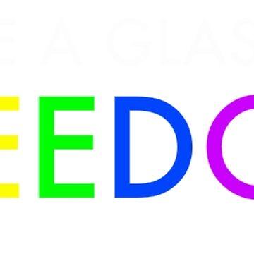 Pride/Musicals - Raise A Glass To Freedom (Rainbow) by JGleeBieGomez