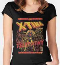 Xtina Telepathy Women's Fitted Scoop T-Shirt