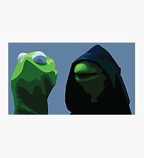 Dark Kermit  Photographic Print