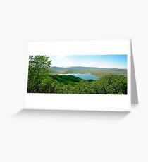 Catamount Lake Greeting Card