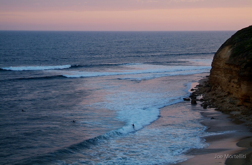 Twilight, Bells Beach Australia,Great Ocean Road by Joe Mortelliti