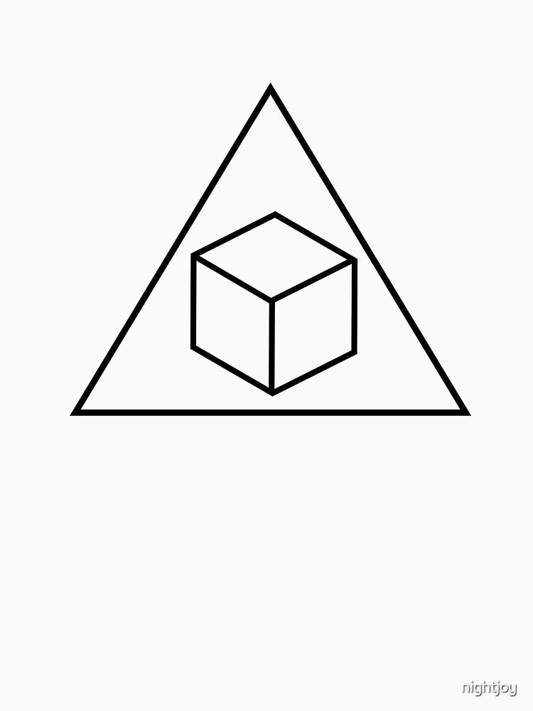 Delta Cubes - Greendale Fraternity Shirt | Unisex T-Shirt