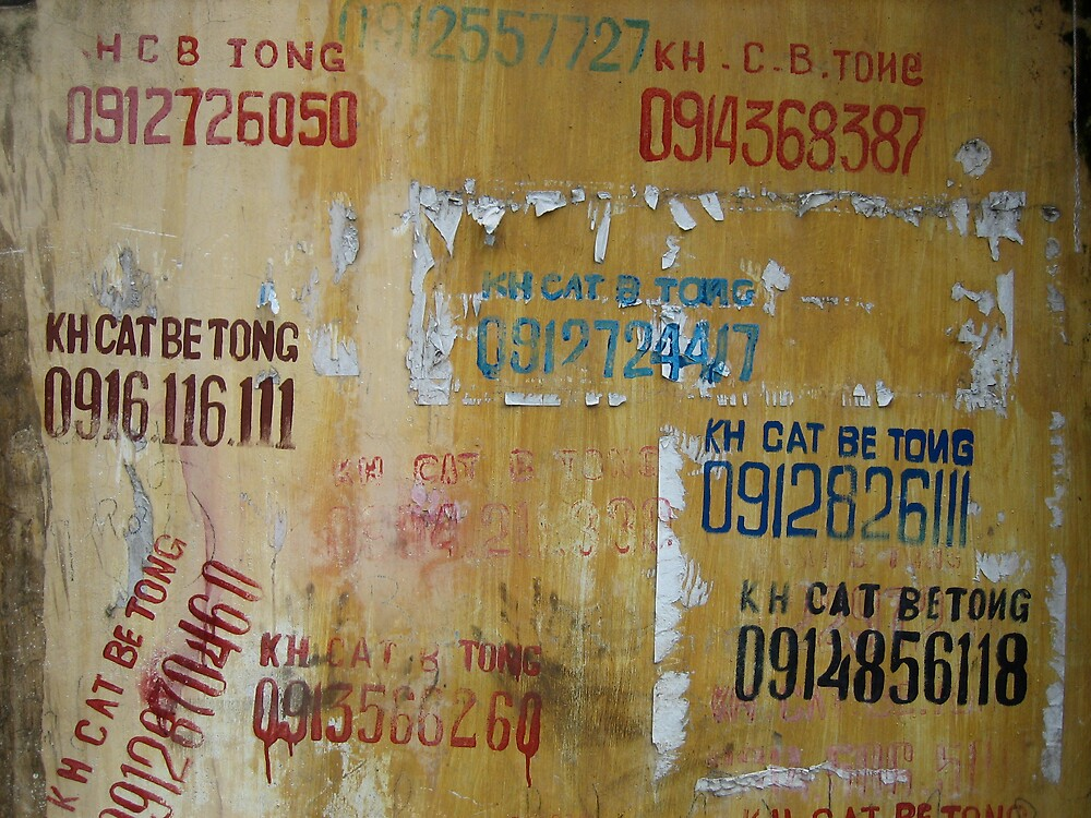 Hanoi Yellow Pages by Justin McMurray