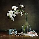 Still Life with Orchids by Heather Prince