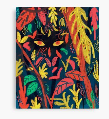 Entre la naturaleza Canvas Print