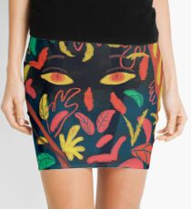 Between nature Mini Skirt
