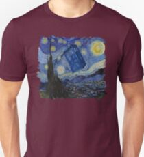 Starry Night Tardis T-Shirt