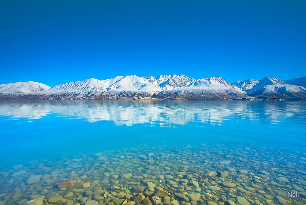 Lake Pukaki by Neil