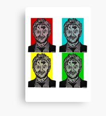 Zombie Chris Hardwick @nerdist fanart Canvas Print