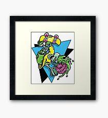 Radical Brains Framed Print