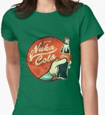 Fallout nuka cola logo, Womens Fitted T-Shirt