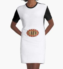 Cafe Graphic T-Shirt Dress