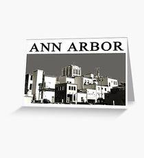 ANN ARBOR POSTCARD NO 1 Greeting Card
