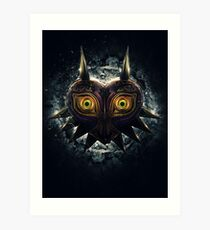The Epic Evil of Majora's Mask Art Print