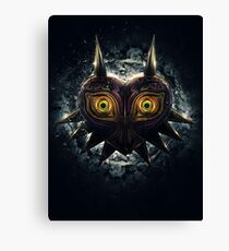 The Epic Evil of Majora's Mask Canvas Print