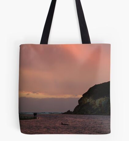 Sunset, Glen Aire Beach Tote Bag