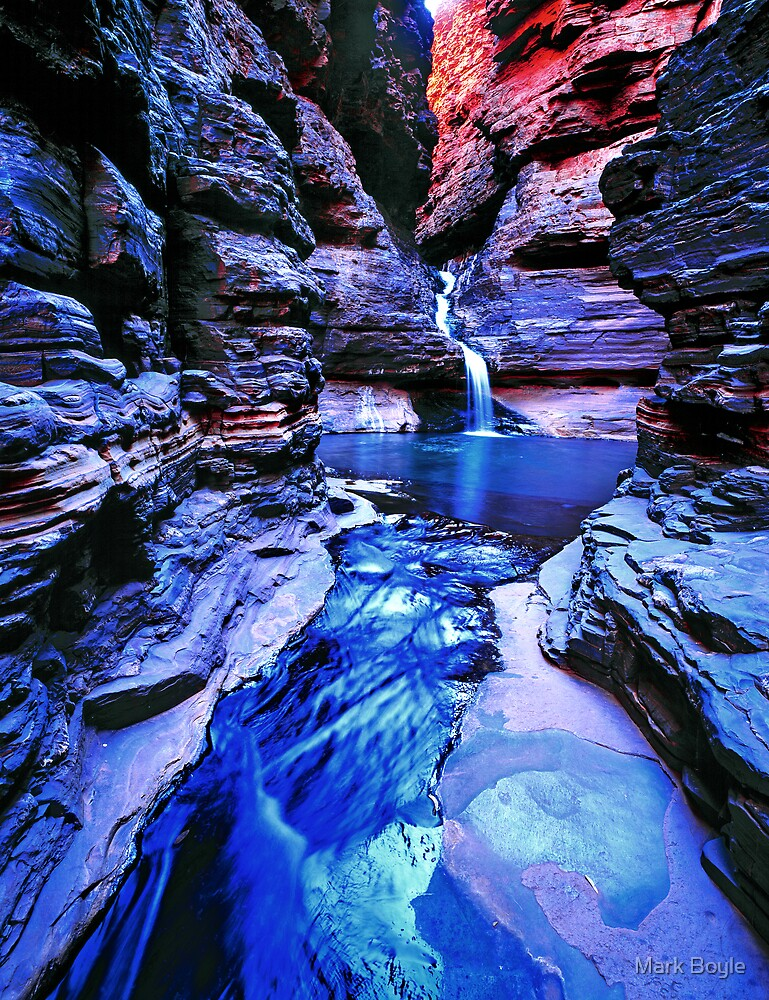 Hancock Blue #2, Karijini NP by Mark Boyle