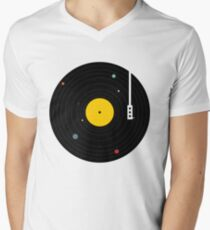 Music Everywhere Men's V-Neck T-Shirt