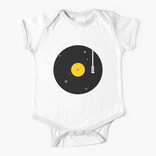 Music Everywhere Short Sleeve Baby One-Piece