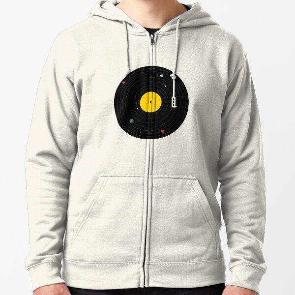 Music Everywhere Zipped Hoodie