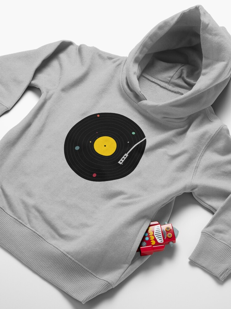 Alternate view of Music Everywhere Toddler Pullover Hoodie