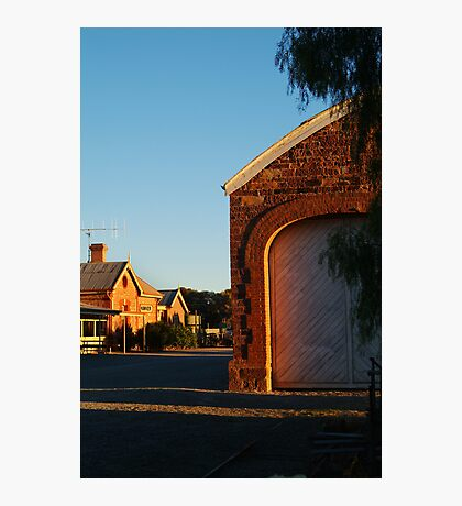 Hawker Railway Station,Outback South Australia Photographic Print