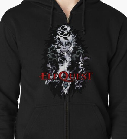 Darkwood Cutter (multiple options) Zipped Hoodie