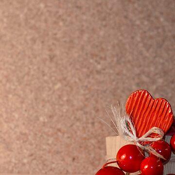 Love Background - Heart, Emotional, Valentine, Wooden  by JuliaRokicka