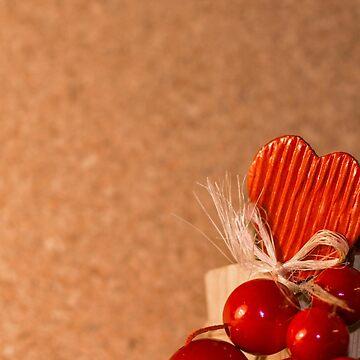 Love Background 2 - Heart, Emotional, Valentine, Wooden, Pinboard by JuliaRokicka