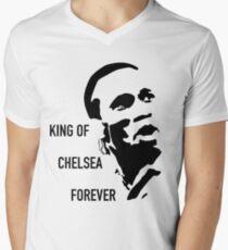DROGBA - KING OF CHELSEA Men's V-Neck T-Shirt