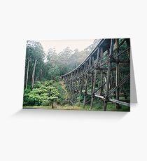 Trestle Bridge, Victoria Greeting Card