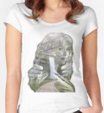 Helen Magnus, Underground Sanctuary Women's Fitted Scoop T-Shirt