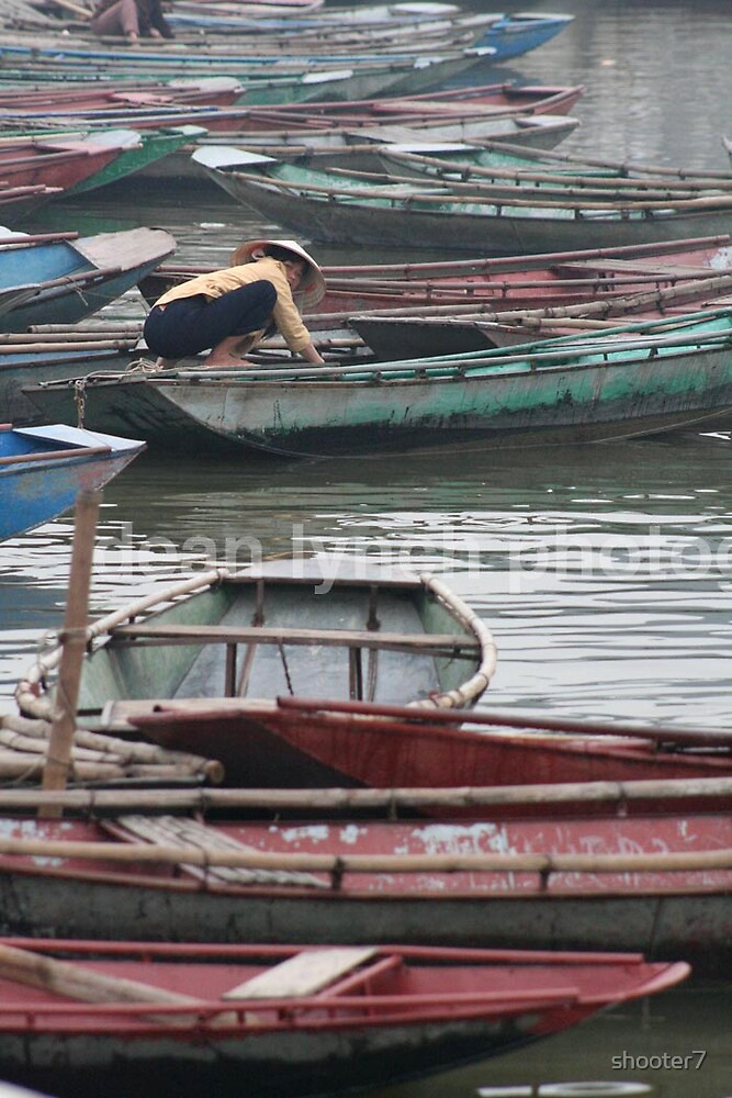 row boats of many by shooter7