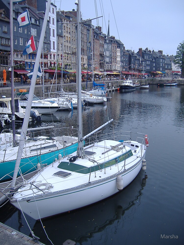 Honfleur, Normandy, France by Marsha