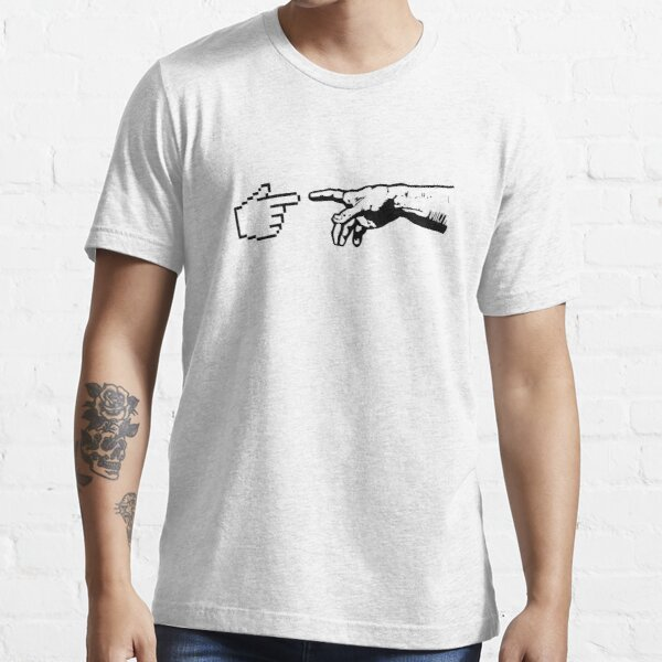 God and The Machine Hands Essential T-Shirt