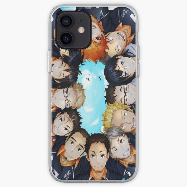 Haikyuu!!! characters circle  iPhone Soft Case