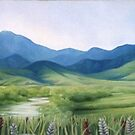 Montana Summer by OneArt InEave