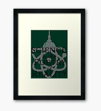 Science Is the Poetry of Reality Framed Print