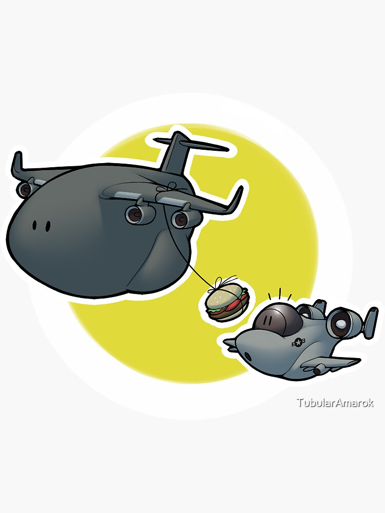 A-10 Mid-Air Refueling by TubularAmarok
