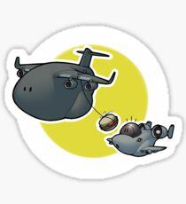 A-10 Mid-Air Refueling Sticker