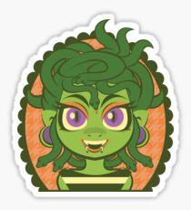 Medusa Girl Sticker