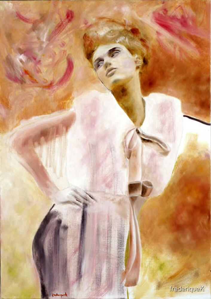 autoportrait by frederiqueK